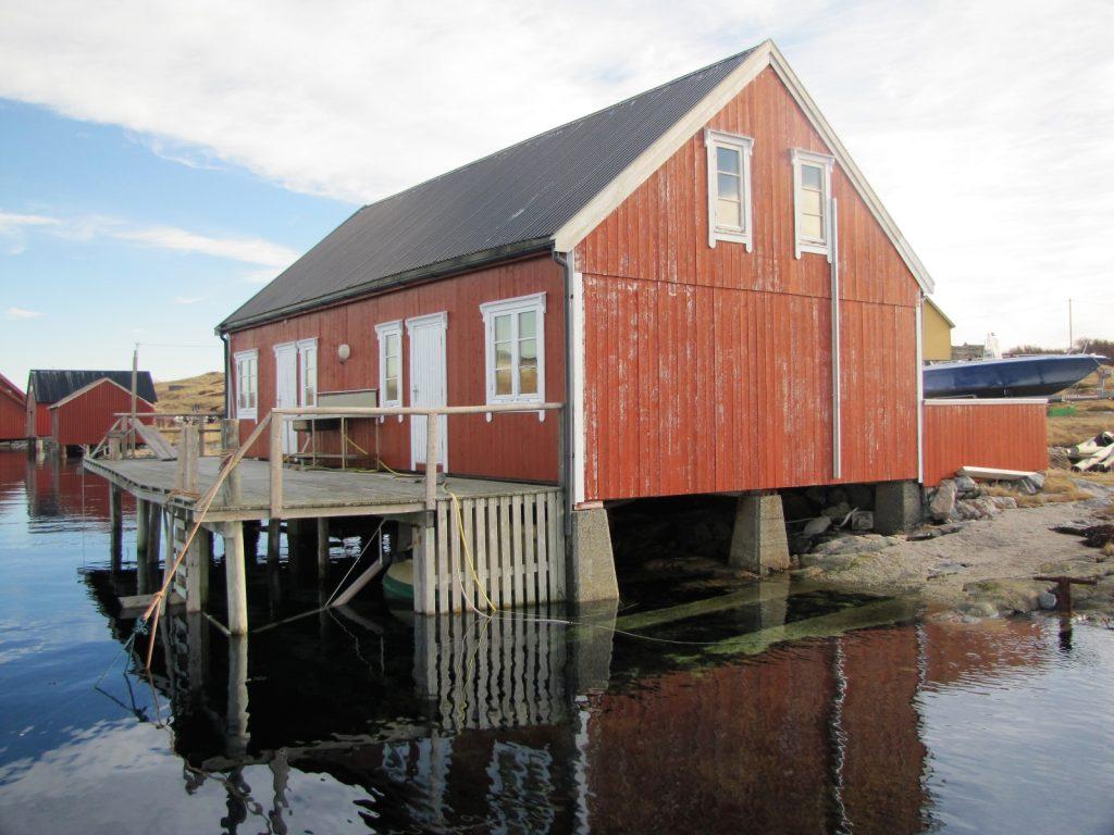Rorbuferie på Titran i Frøyas skjærgård på Trøndelagskysten