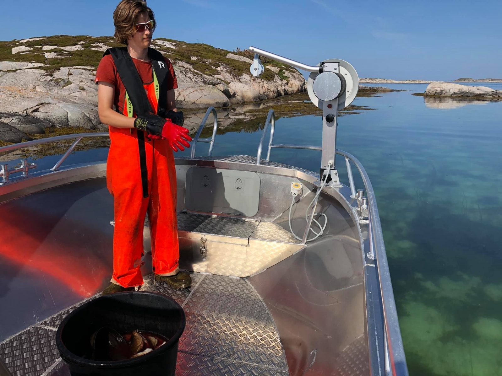 Øyhopping og fiskeopplevelser på Bogøya i Frøyas skjærgård på Trøndelagskysten.