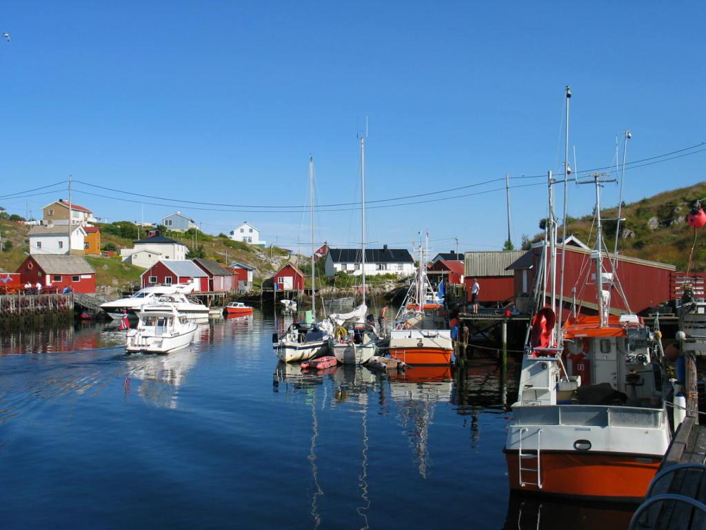 Kjeila i Mausund, Frøyas skjærgård på Trøndelagskysten