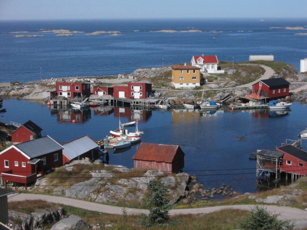 Øya Mausndvær i Frøyas skjærgård på Trøndelagskysten