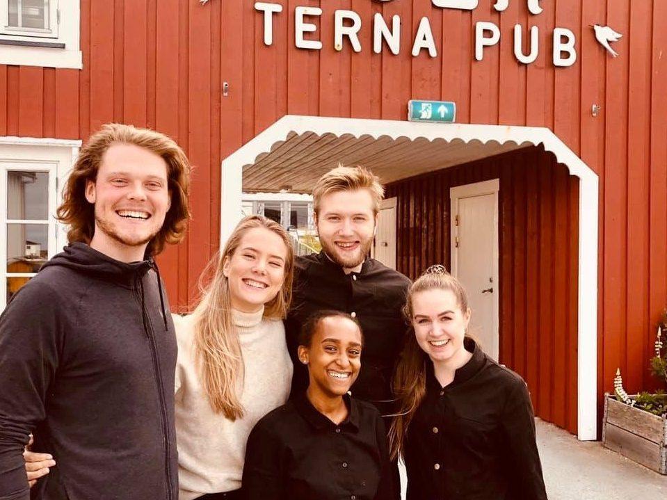 Spisested og pub i Øyrekka, Terna Brygge på Sula