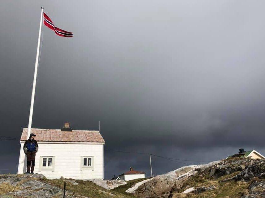 Gjæsingen i Froan, nord i Øyrekka på Trøndelagskysten