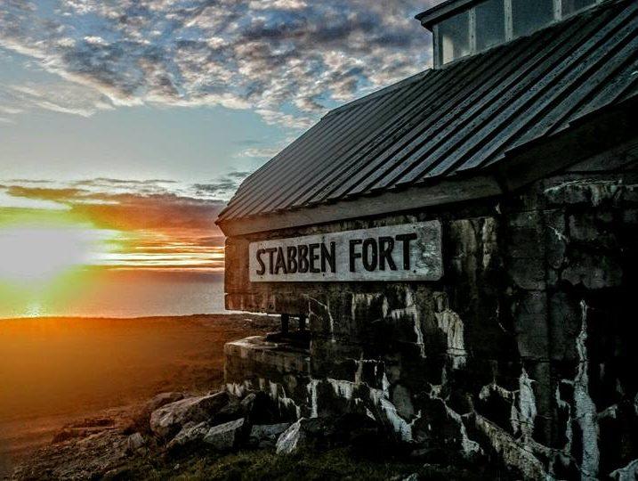 Stabben fort på Titran, Frøya på Trøndelagskysten