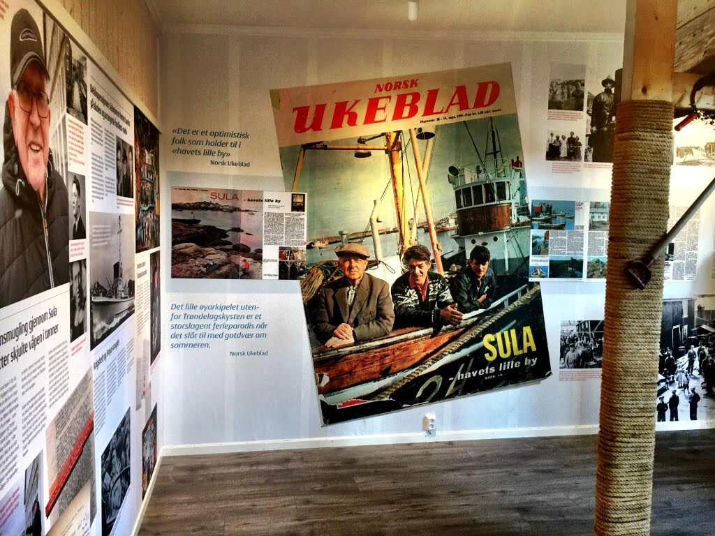 Sula Fiskeværsmuseum i Frøyas skjærgård på Trøndelagskysten.