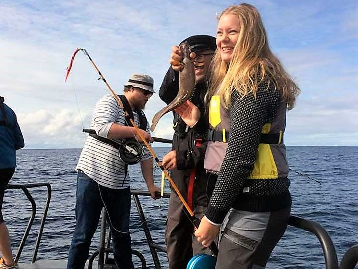 Havfiske og andre fiskeopplevelser i Frøyas skjærgård, Øyrekka på Trøndelagskysten