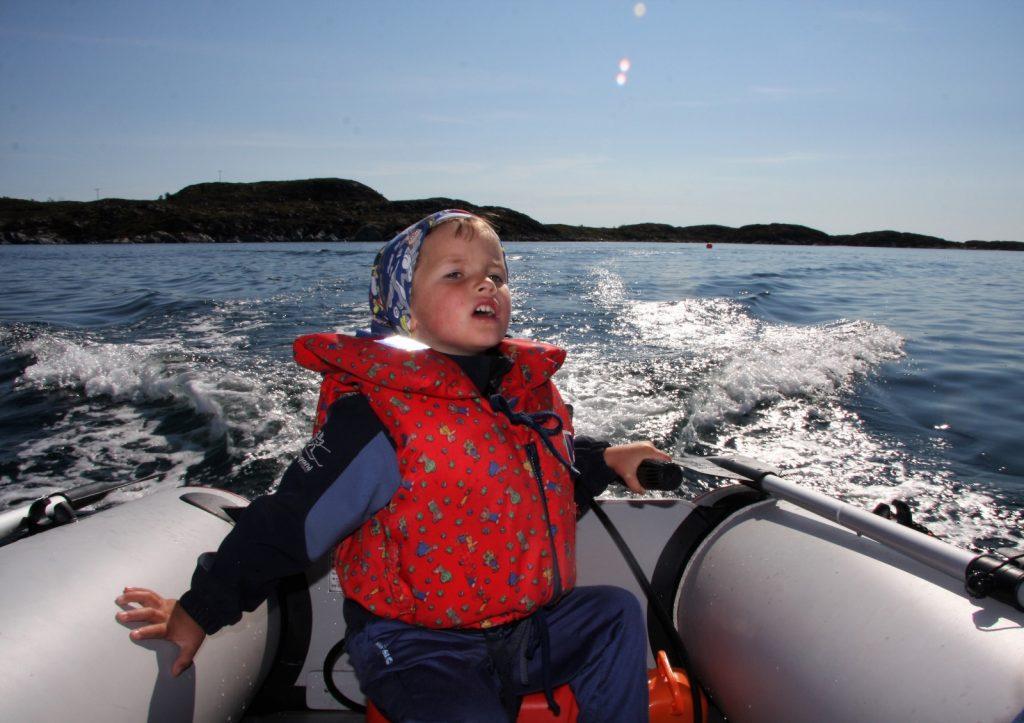 Familieferie og opplevelser i Frøyas skjærgård, Øyrekka.