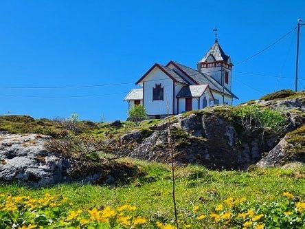 Sauøy kapell i Froan