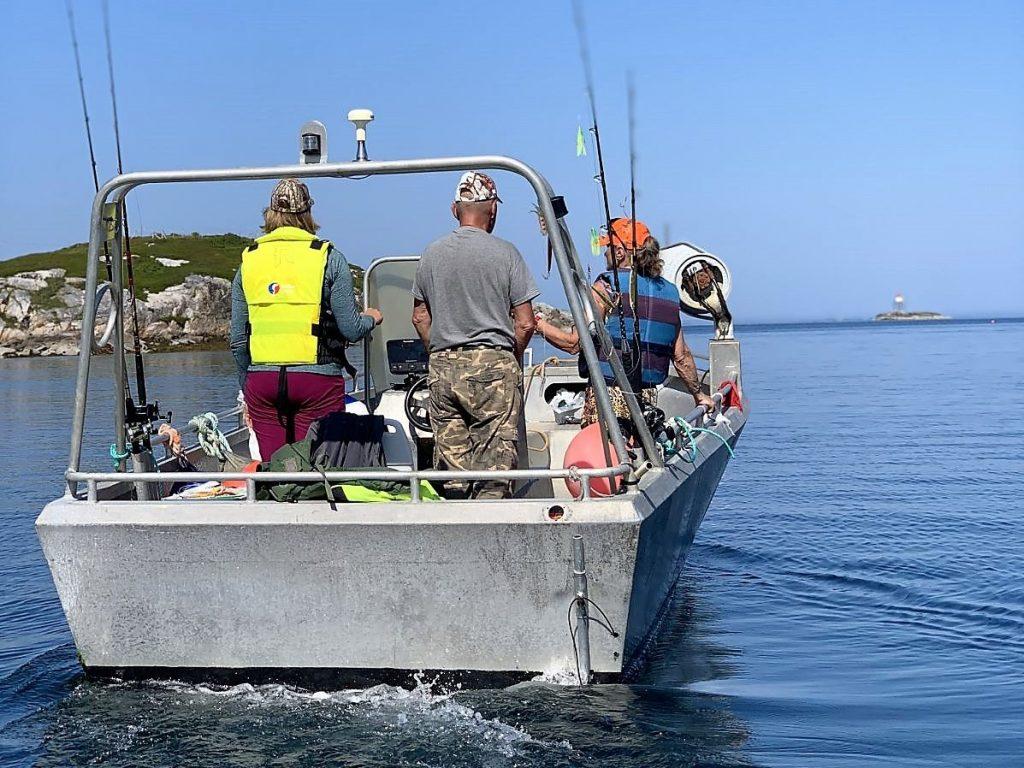 Havfiske i Frøyas skjærgård, Øyrekka på Trøndelagskysten