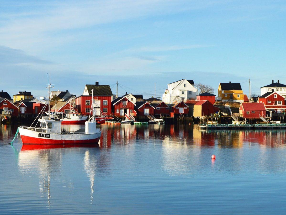 Øya Sula i Frøyas skjærgård