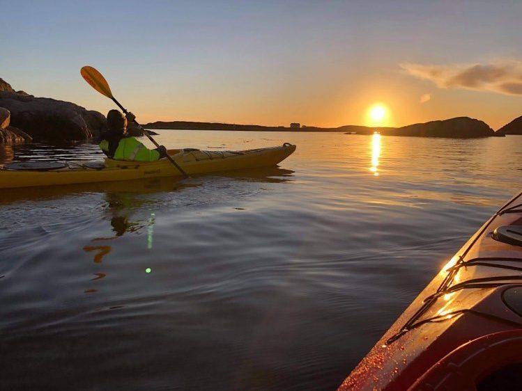 Padleopplevelser i Frøyas skjærgård, Øyrekka på Trøndelagskysten
