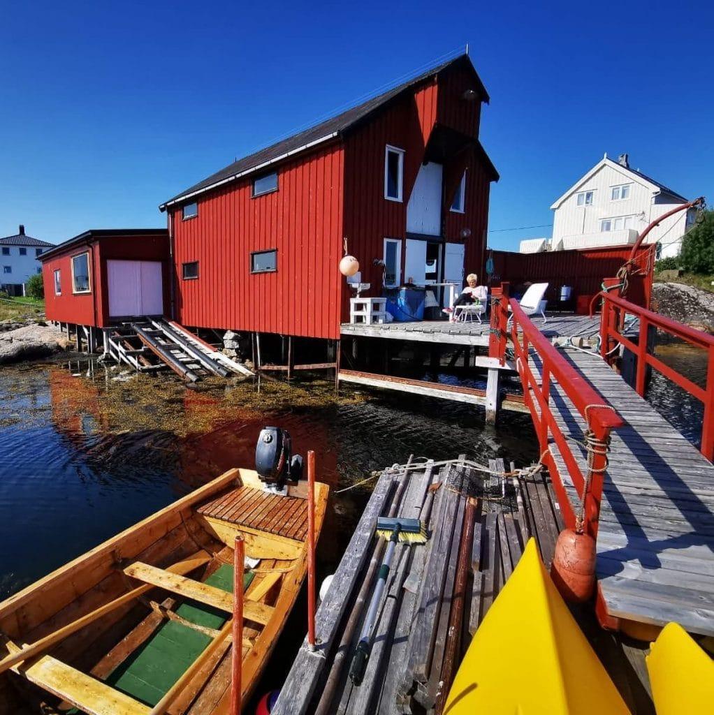 Atelier Staangsund i Frøyas skjærgård Øyrekka på Trøndelagskysten
