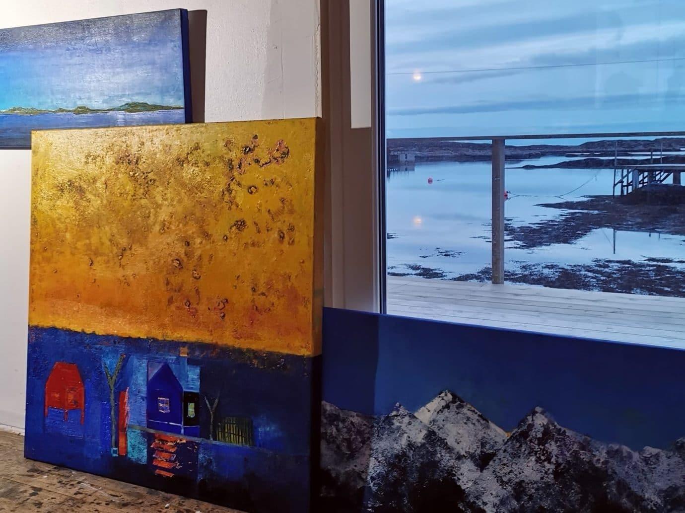 Kunstgalleri i Frøyas skjærgård på Trøndelagskysten - Atelier Staangsund.