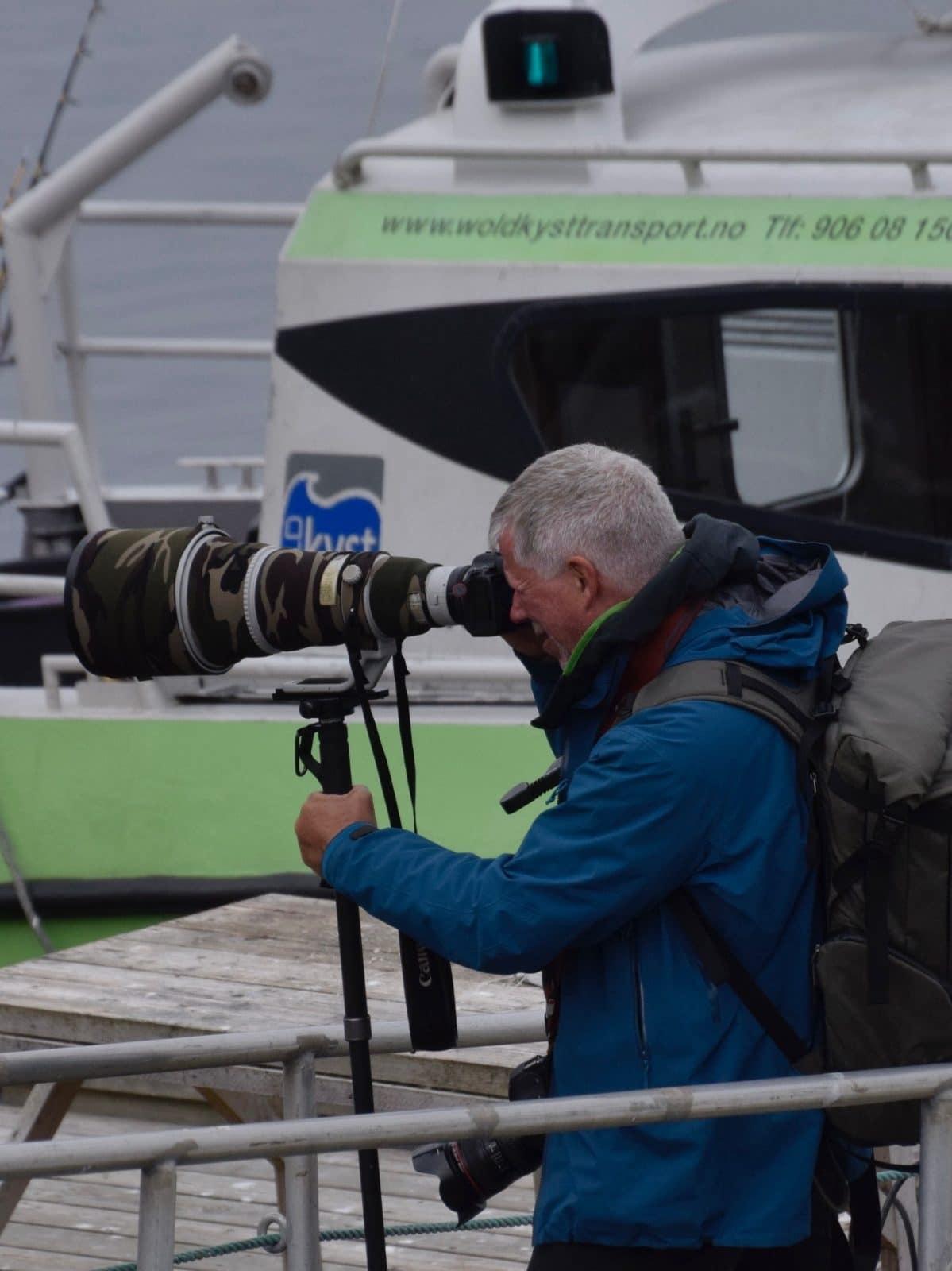 Dyre- og fugleopplevelser på Halten i Froan - bli med på fototur til Halten med Wold Kysttransport, Frøya