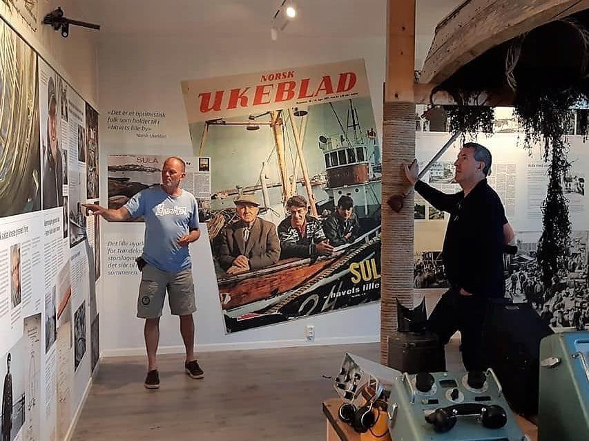 Sula Fiskeværsmuseum og historisk vandring med Tom Kjærås i SulaKultur