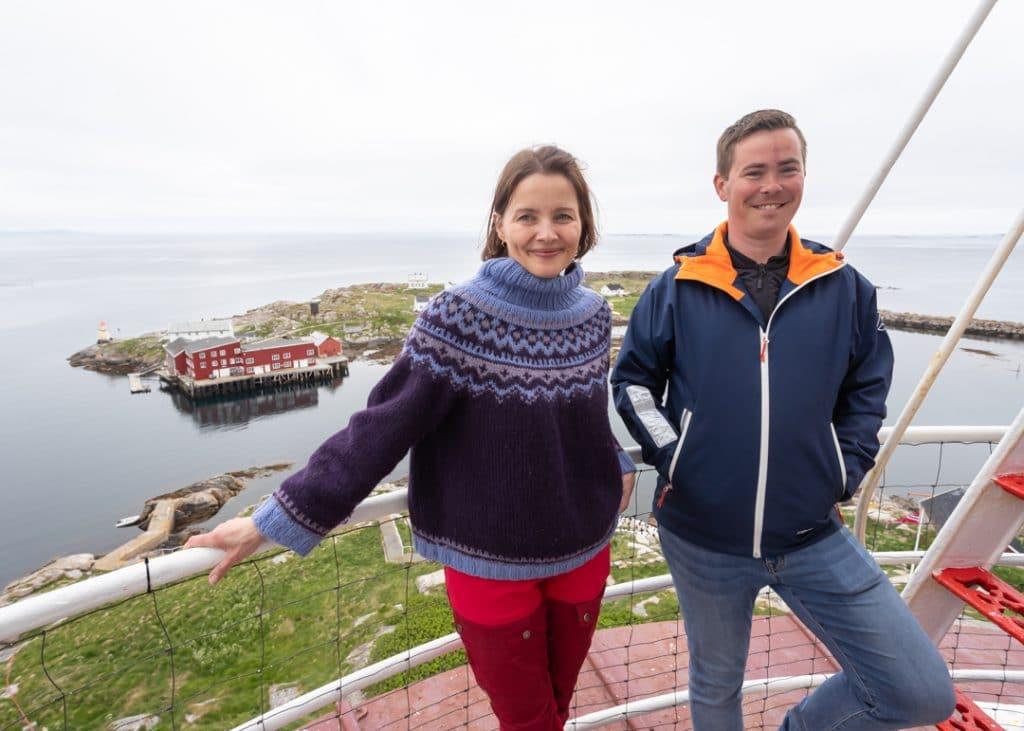 Omvisning i Halten fyr, fyrtur med spektakulær utsikt over Frøyas skjærgård