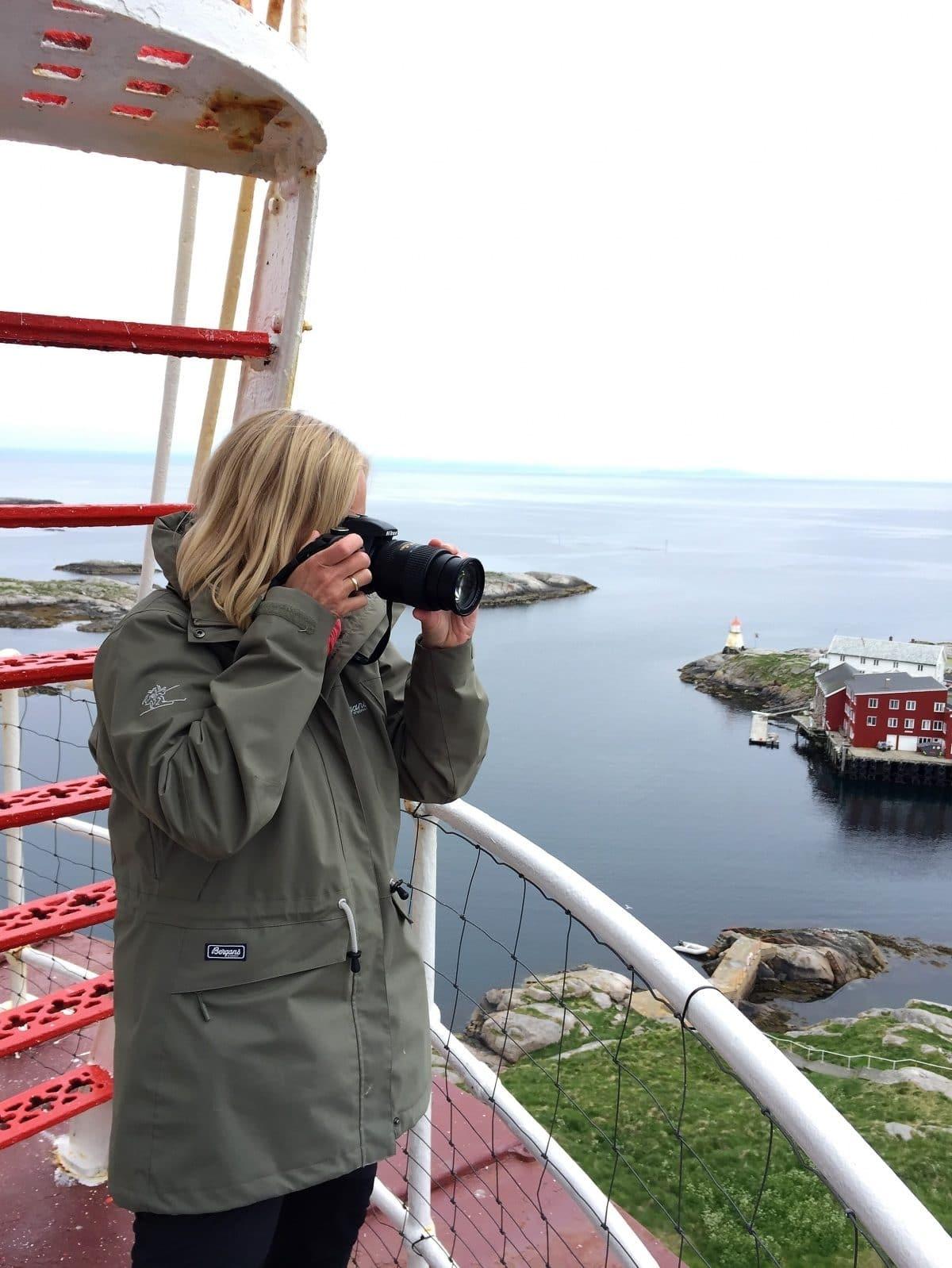 Utsikten fra Halten fyr. Øyhopping og fototurer til Halten og Froan, Trøndelag